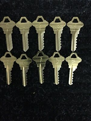 Schlage Sc1 Depth Keys Number 0 -9