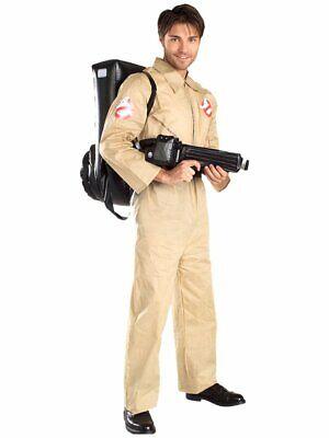 m Ghostbusters für Erwachsene mit Tornister und Protonenkanone (Ghostbusters-kostüm Für Erwachsene)