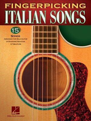 Fingerpicking Italian Songs Sheet Music 15 Songs for Solo Guitar 000159778