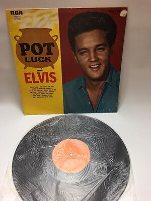 Elvis Presley - Pot Luck Lp French Import 740.673 Elvis The Pelvis memphis