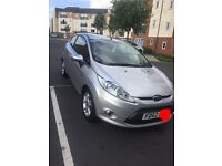 Ford Fiesta (silver) LOW MILAGE! Full service history tax and test!