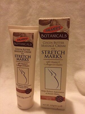Oil Free Massage Cream - Palmer's Botanicals Cocoa Butter Massage Cream for STRETCH MARKS 4.4 oz