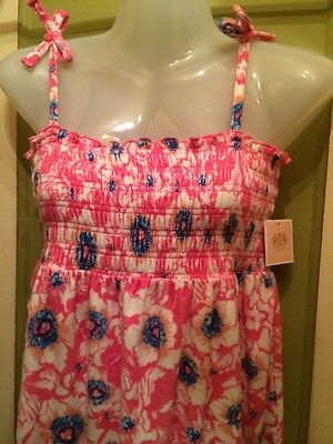 Beautiful! NWT Kids Juicy Couture Esmeralda Floral Terry Dress Size 10 (Couture Childrens Dresses)