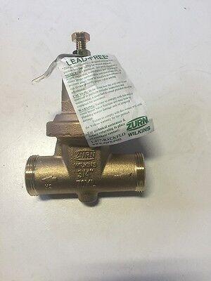 Zurnwilkens Water Pressure Valve 34 Lead Free 70xl New