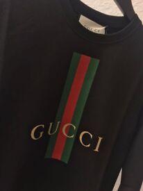 Mens designer gucci sweatshirt bankrupt stock