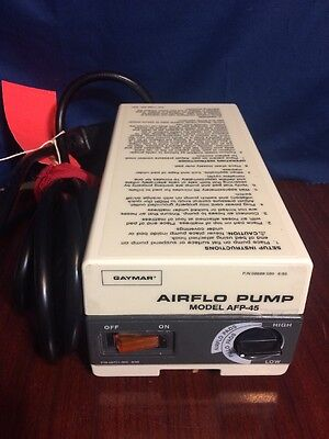Gaymar Afp-45 Airflo Pump Alternating Pressure Relief Free Shipping
