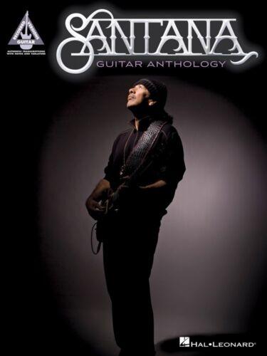 Santana Guitar Anthology Sheet Music Guitar Tablature Book NEW 000173534