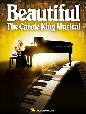 Beautiful: The Carole King Musical Sheet Music Easy Piano Vocal NEW 000215521