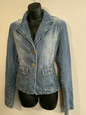 Nwt Blue Jean Denim Jacket Wm Size Xl