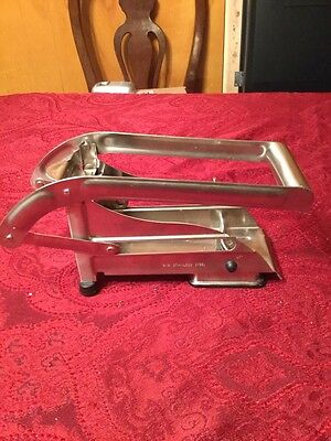 Stainless Steel Potato Slicer French Fry Vegetable Cutter Chopper