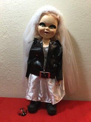 BRIDE OF CHUCKY MOVIE TIFFANY 1998 24 INCH DOLL - 24 Inch Chucky Doll