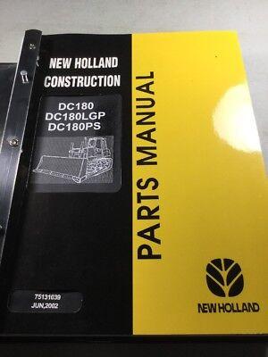 New Holland Dc180 Dc180lgp Dc180ps Crawler Dozer Parts Catalog Manual