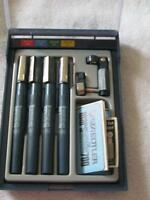 STAEDTLER MARSMATIC SET T- SQUARE DRAFTING TOOLS. TABLE ETC