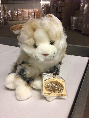 Webkinz Signature Marble Cat Soft Plush Animal With Online Code Ganz