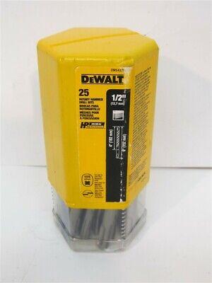 Dewalt Dw5437b25 12 X 4 X 6 Sds-plus Carbide Tipped Masonry Bit 25 Pack