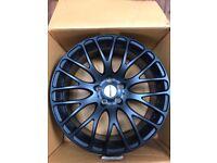 19 inch Matt black alloy wheels