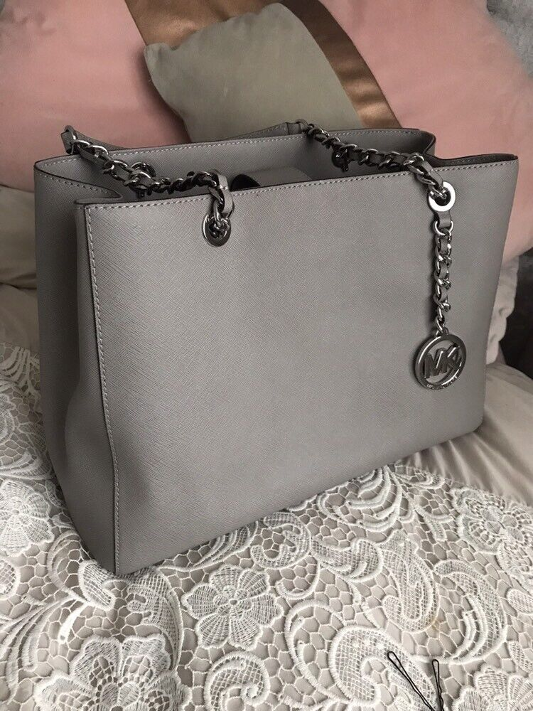 119a3a6db Michael Kors Pearl Grey handbag | in Alvaston, Derbyshire | Gumtree