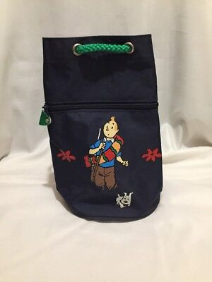 Tintin Sac à dos Le temple du Soleil MILOU / HERGE / MOULINSART / BAG VINTAGE (Templer Kleidung)