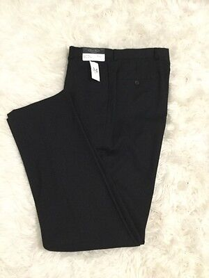Mens Wearhouse Black Trousers Size 34