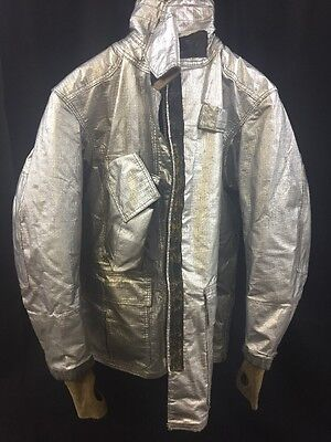 Globe M152 Firefighter Proximity Jacket Turnout Gear 4032l Poor Condition