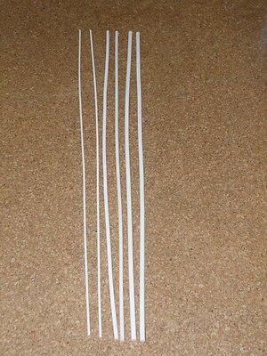 6 Stück Orginal Manila  Rohrstock / Spanking  Set 85 cm / 5-8-10mm