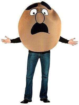 Mens Movie Character Costumes (Sausage Party Movie Sammy Costume Adult Mens Bagel Food Character One)