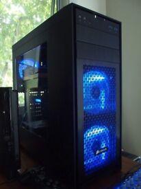 Fast Gaming PC - 4K Ready, Core i5, R9 Graphics, Desktop Computer UHD