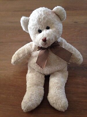 White Embrace Classic Soft Cuddly Toy - <E2050