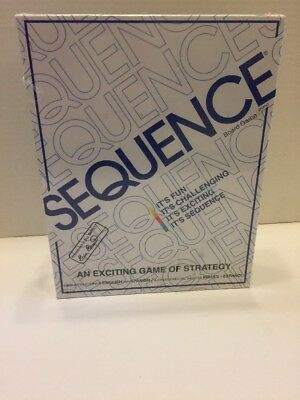 Sequence Exciting Strategy Board Card Game New Sealed  English and Spanish ()