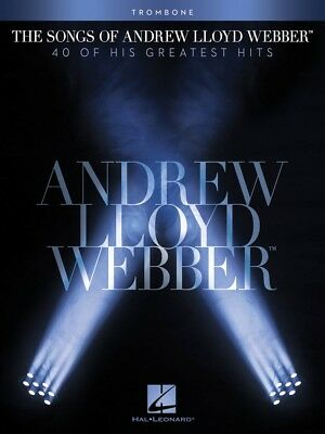 - The Songs of Andrew Lloyd Webber Trombone Instrumental Solo Book NEW 000102652