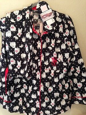 Victoria's Secret Polar Bear Fun Pajama Set New with Tags Small