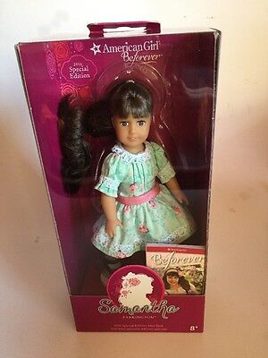 American Girl Mini Doll Samantha Parkington 2016 Special Ed Book New Free Ship