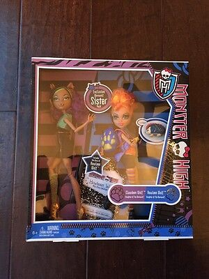 Monster High Clawdeen Wolf & Howleen Wolf 2-pack Dolls & Accessories,New - Clawdeen Wolf Accessories