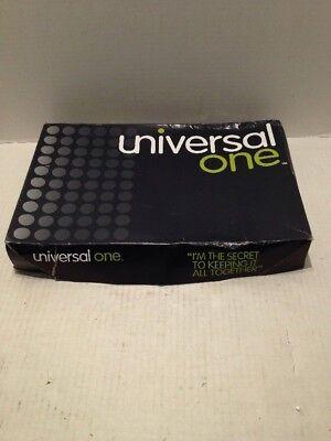 Universal Top-tab File Folders With Fasteners - Unv13528 - 50 Per Box