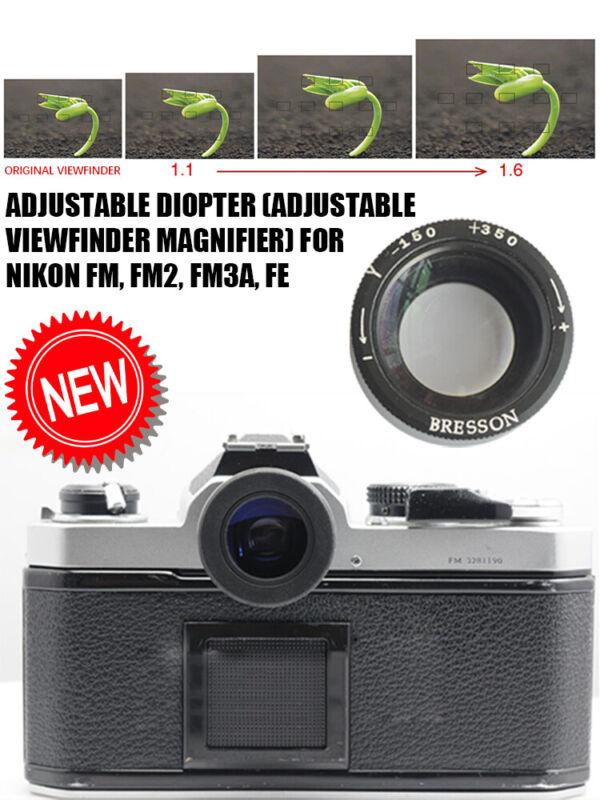 Adjustable viewfinder magnifier (Adjustable Diopter) for Nikon FM, FM2, FM3A, FE