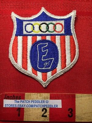 OLYMPIC LOGO SHIELD CAPITOL E UNITED STATES FLAG THEME SHIELD 62U5 - Olympic Themed Crafts