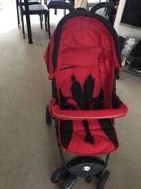 Petite City Bug Stroller & Car Seat