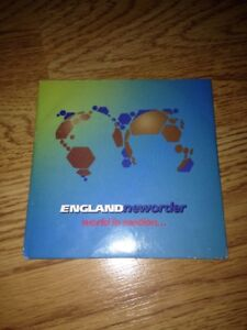 New Order, World In Motion Cd Single England