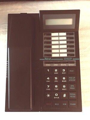 Telrad 79-520-0000 Display 16 Key Phone Black Refurbished Warranty