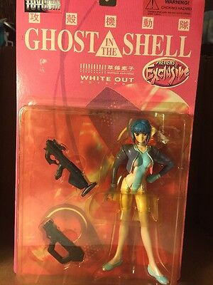 """Ghost in the Shell Action Figure 7"""" Tall NIB"""