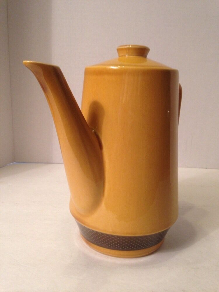 Vintage Harmony House Aurora Iron Stone Coffee Pitcher