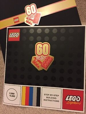 Anniversary Booklet - Lego 60 Years 60th Anniversary Booklet 9568/15,000
