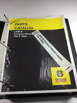 New Holland Lw80.b Wheel Loader Parts Catalog Manual