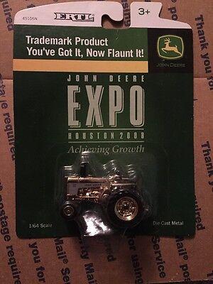 John Deere 730 Expo Houston 2008 Gold Ertl 1/64