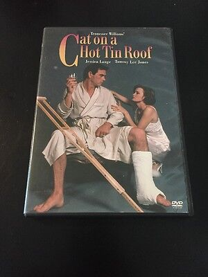 CAT ON A HOT TIN ROOF DVD JESSICA LANGE  TOMMY LEE