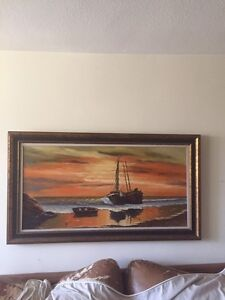 Painting in Beautiful Frame