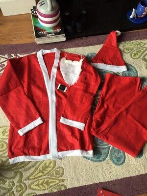 Men's Women's Santa Suit One Size Christmas