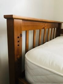 Single bed frame, with the side border, ideal for kids