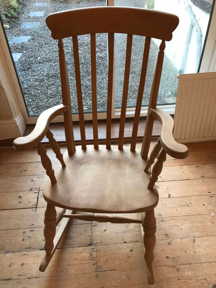 Antique pine rocking chair - Antique Pine Rocking Chair In Oakwood, West Yorkshire Gumtree