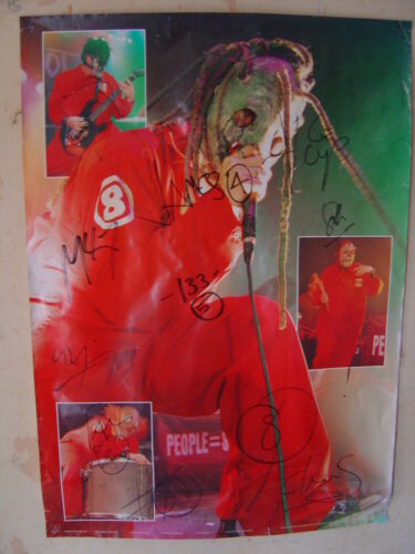 Rare Slipknot Live Poster New Long OOP 24x36 Rolled Old Stock